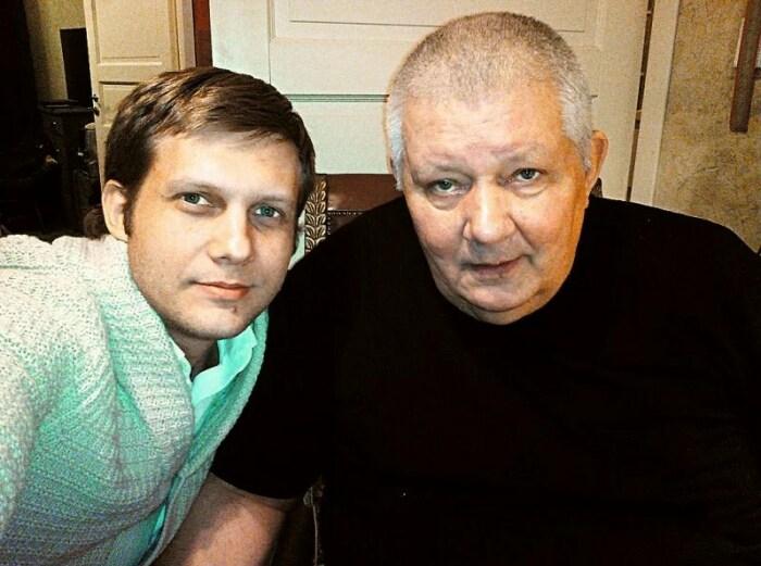 Борис Корчевников с отцом. / Фото: www.yandex.net