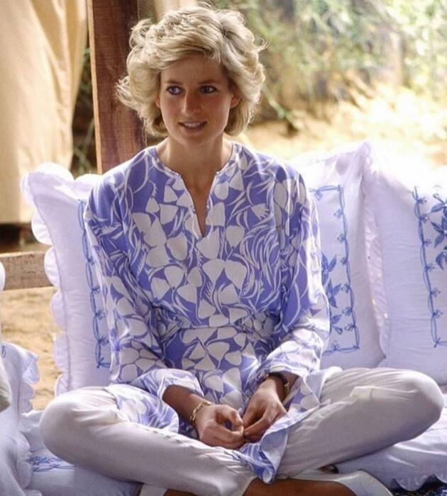 Принцесса Диана. / Фото: www.lahamag.com