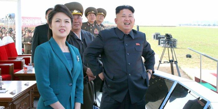 Ким Чен Ын и Ли Соль Чжу. / Фото: www.briefnews.eu