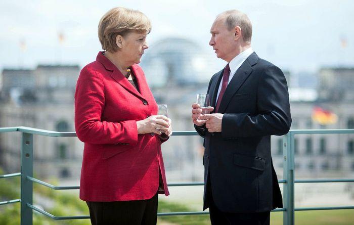 Ангела Меркель и Владимир Путин. / Фото: www.spiegel.de