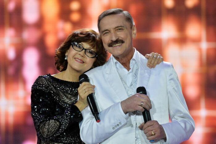 Ядвига Поплавская и Александр Тиханович. / Фото: www.newsbel.by