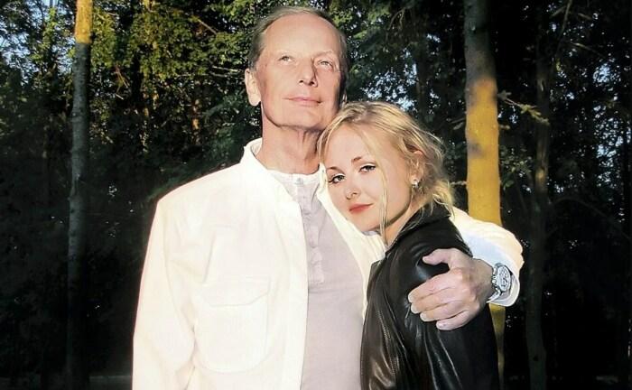 Михаил Задорнов с дочерью Еленой. / Фото: www.obozrevatel.com