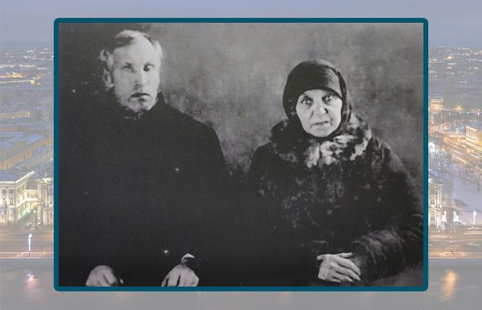 Василий Корнилов и Марфа Уженцева после задержания.