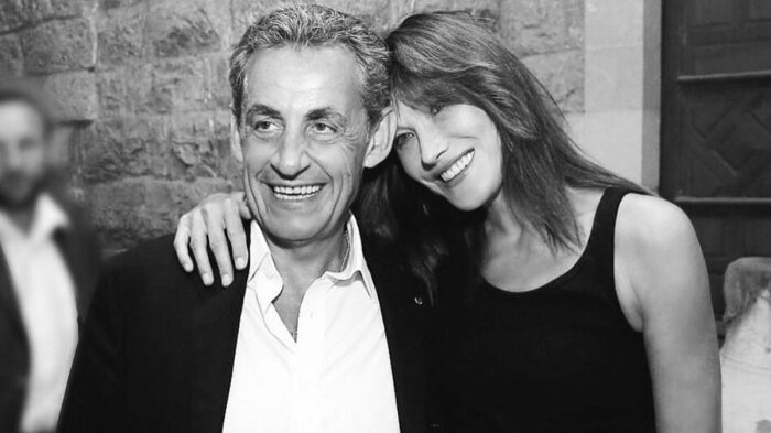 Николя Саркози и Карла Бруни. / Фото: www.lifestyle.24tv.ua
