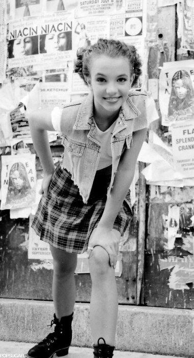 Бритни Спирс в 13 лет. / Фото: www.eva.ru