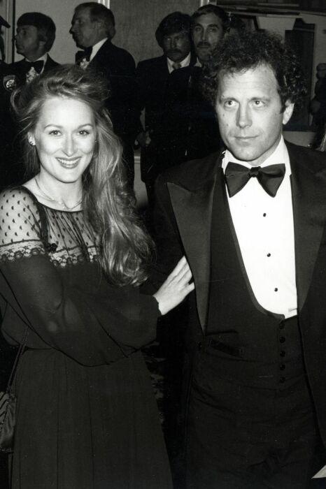 Мерил Стрип и Дон Гаммер. / Фото: www.harpersbazaar.kz