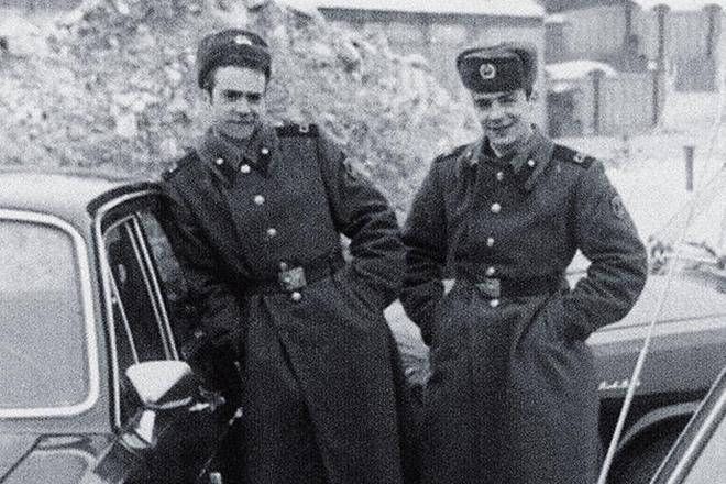 Братья Торсуевы во время службы в армии. / Фото: www.obozrevatel.com
