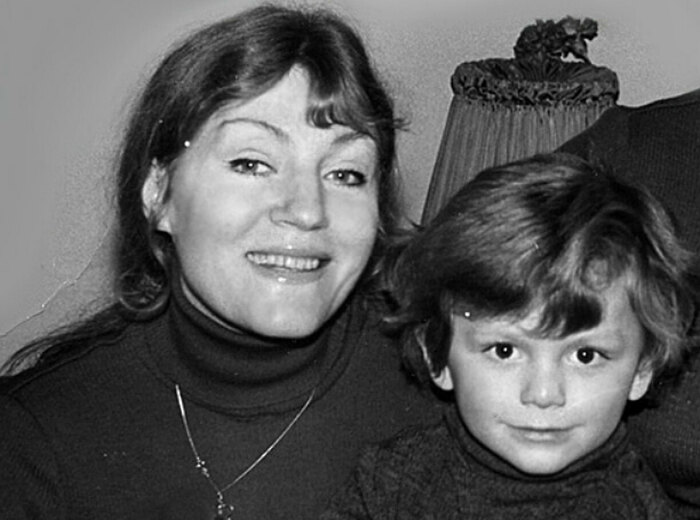 Анна Герман с сыном. / Фото: www.goodhouse.ru