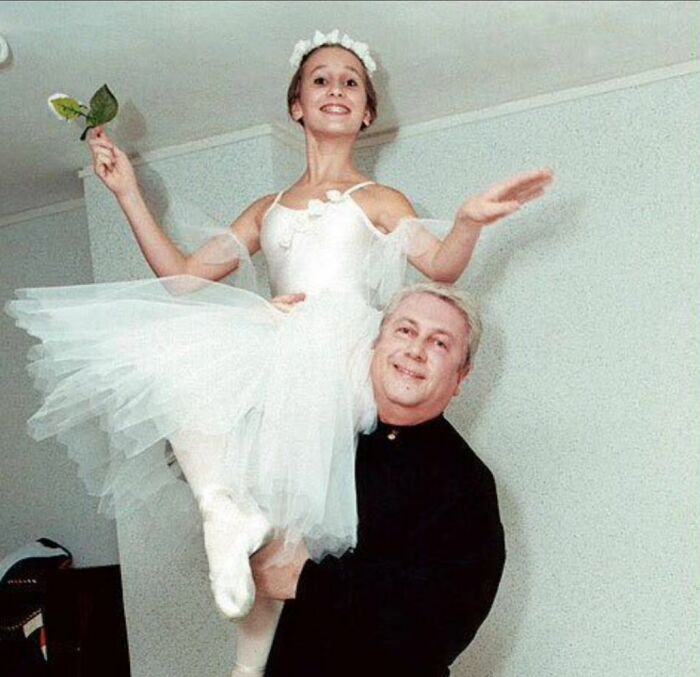 Анастасия Винокур с папой. / Фото: www.joinfo.ua