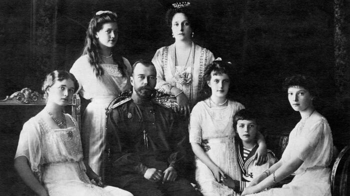 Царская семья. / Фото: www.zdf.de