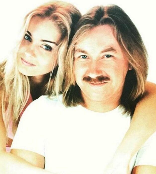 Юлия Николаева с отцом. / Фото: www.fun-place.ru