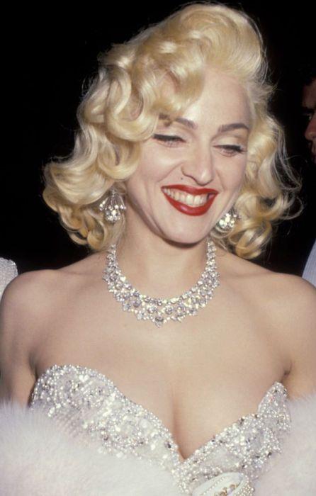 Мадонна. / Фото: www.pinimg.com