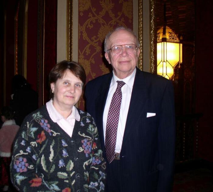 Сергей Хрущёв с женой. / Фото: www.theepochtimes.com