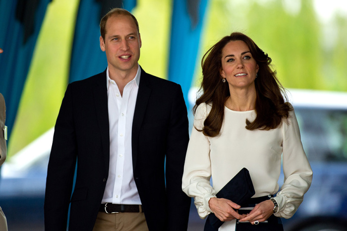 Кейт Миддлтон и принц Уильям. / Фото: www.k-middleton.com
