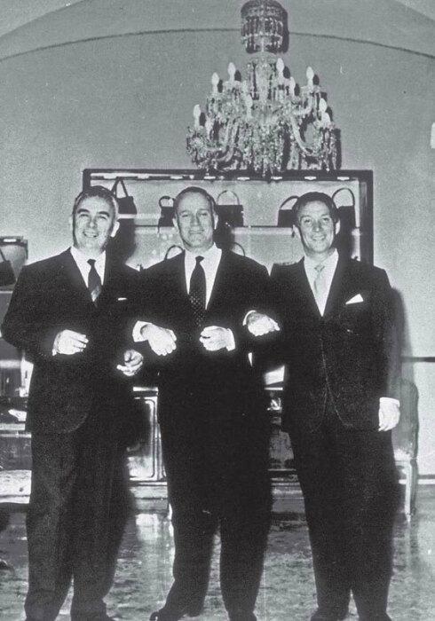 Васко, Альдо и Родольфо Гуччи. / Фото: www.wikireading.ru