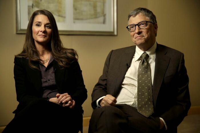 Билл и Мелинда Гейтс. / Фото: www.hochu.ua