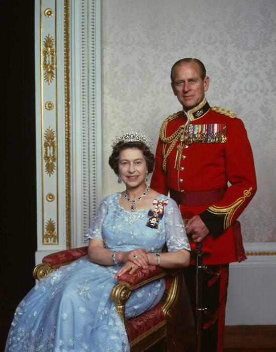 Принц Филипп и Елизавета II. / Фото: www.karsh.org