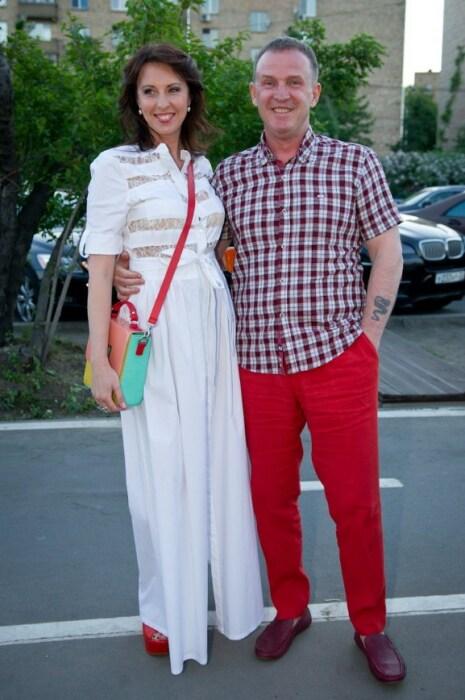Наталья Сенчукова и Виктор Рыбин. / Фото: www.graziamagazine.ru