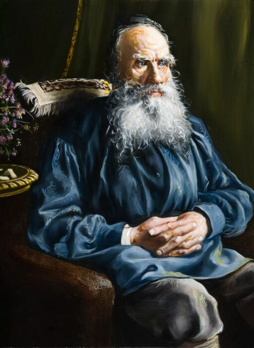 Лев Толстой. / Фото: www.twimg.com