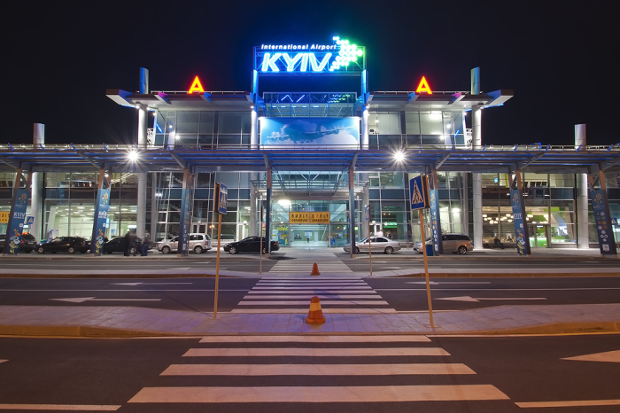 Аэропорт Жуляны (Киев) Украина. / Фото: www.anyaero.com