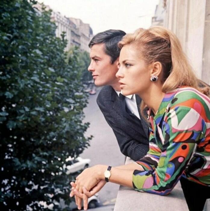 Ален и Натали Делон. / Фото: www.yandex.net