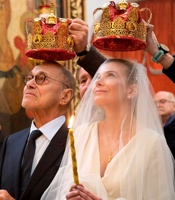 Андрей Кончаловский и Юлия Высоцкая. / Фото: www.kino-teatr.ru