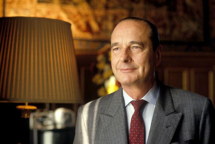 Жак Ширак. / Фото: www.foozine.com