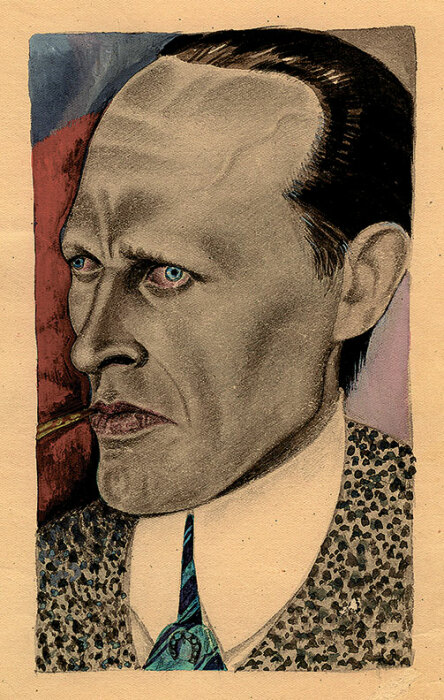 Даниил Хармс. Портрет работы Алисы Порет. 1939 год. / Фото: www.biography.wikireading.ru