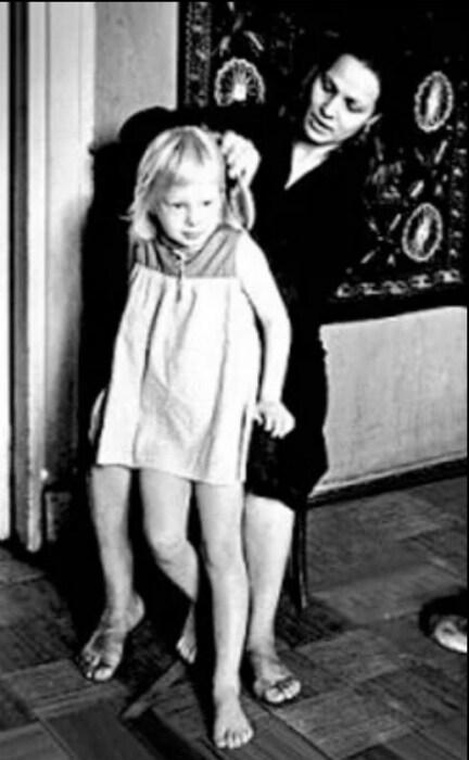 Нина Русланова с дочерью. / Фото: www.yandex.net