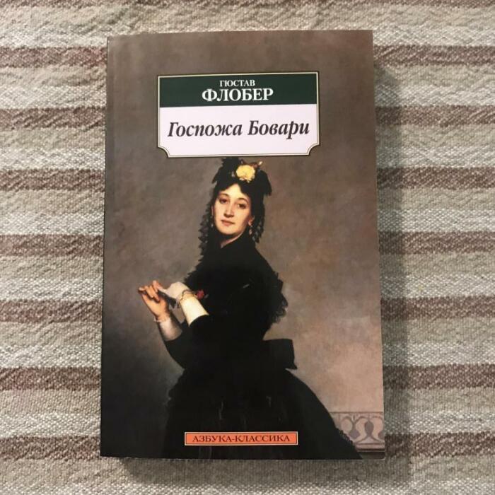 «Госпожа Бовари», Гюстав Флобер. / Фото: www.youla.io