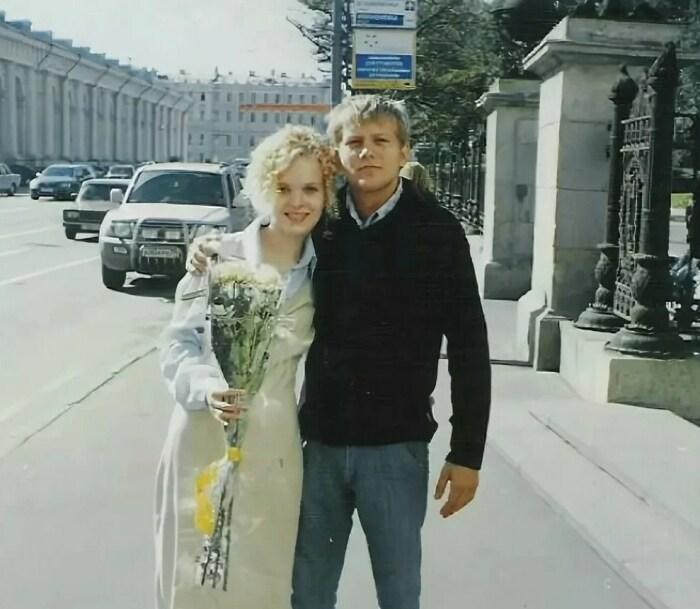 Борис Корчевников и Анна Одегова. / Фото: www.yandex.net