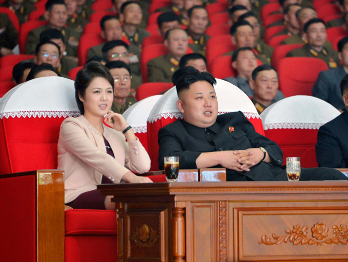 Ким Чен Ын и Ли Соль Чжу. / Фото: www.rbth.com