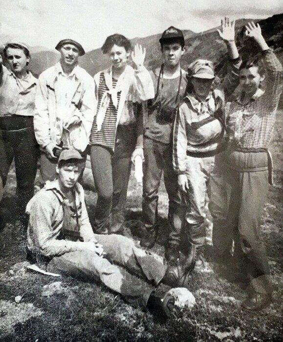 Участники группы Людмилы Коровиной. / Фото: www.dyatlovpass.com