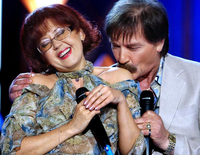 Ядвига Поплавская и Александр Тиханович. / Фото: www.gazeta.ru