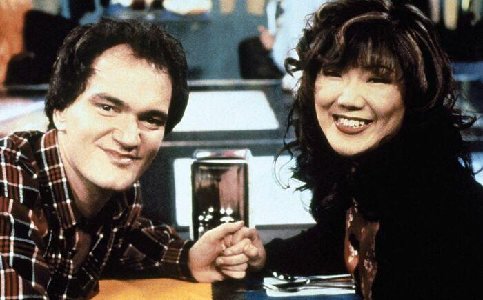 Квентин Тарантино и Маргарет Чо. / Фото: www.sitcomsonline.com