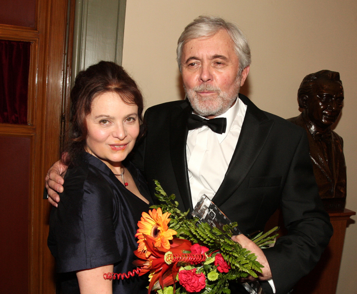 Либуше Шафранкова и Йозеф Абргам. / Фото: www.rf-hobby.cz