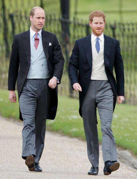 Принц Уильям и принц Гарри. / Фото: www.cosmo.com.ua