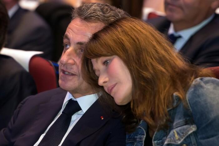 Николя Саркози и Карла Бруни. / Фото: www.rtl.fr