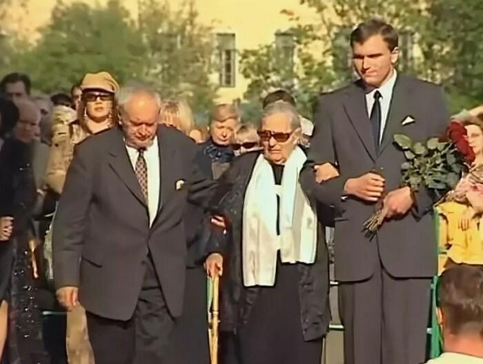 Збигнев Тухольский-старший, Ирма Бернер и Збигнев Тухольский-младший. / Фото: www.yandex.net