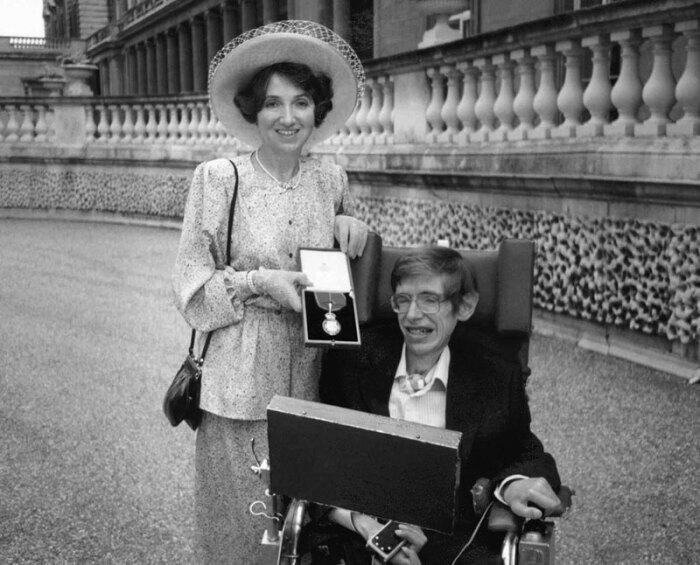Джейн и Стивен Хокинг. / Фото: www.libmir.com