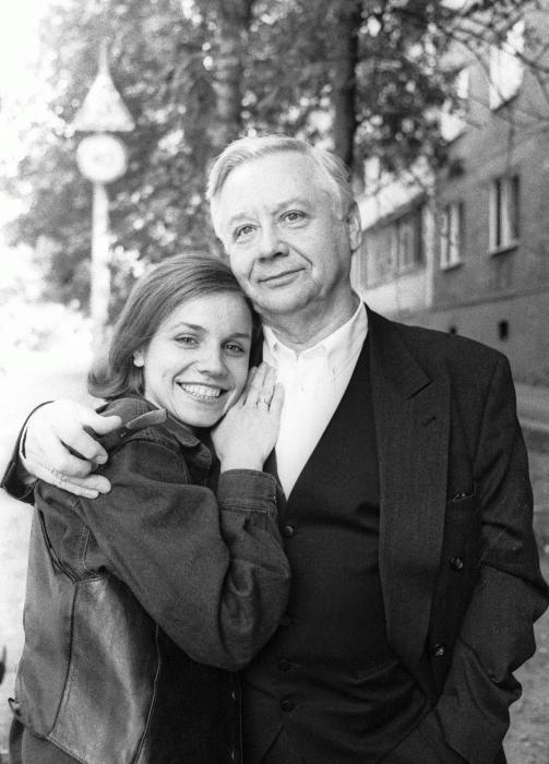 Марина Зудина и Олег Табаков. / Фото: www.infoplastika.ru