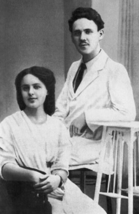 Самуил Маршак и София Мильвидская. / Фото: www.s-marshak.ru
