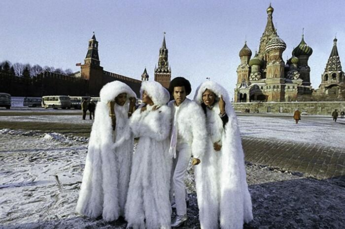 «Boney M» на Красной площади.  / Фото: www.pastvu.com