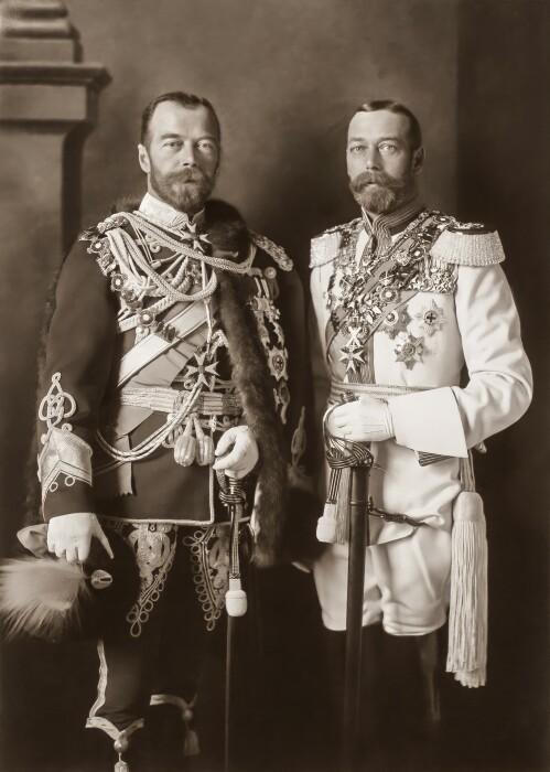 Николай II и Георг V. / Фото: www.ru-wiki.ru