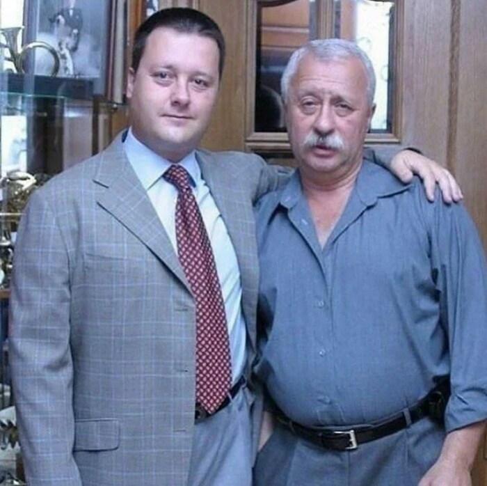 Леонид Якубович с сыном. / Фото: www.yandex.net