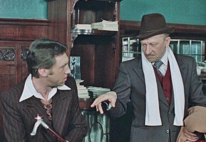 Кадр из фильма «Место встречи изменить нельзя». / Фото: www.yandex.net