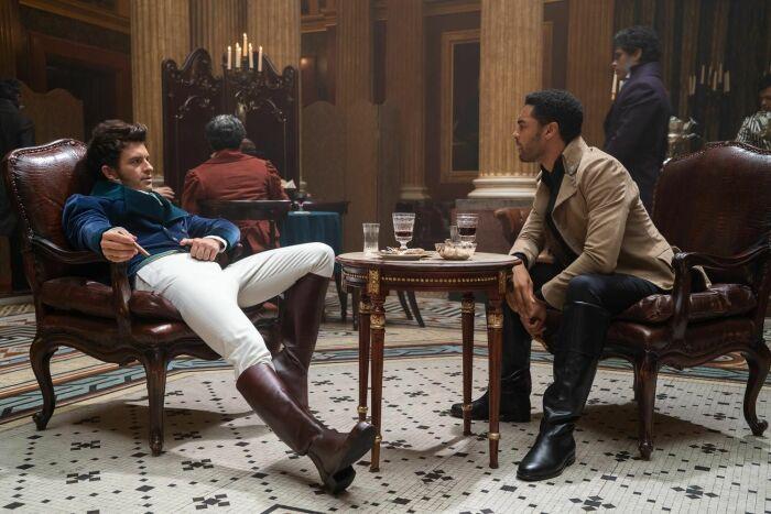 Сериал «Бриджертоны». / Фото: www.kinomania.ru