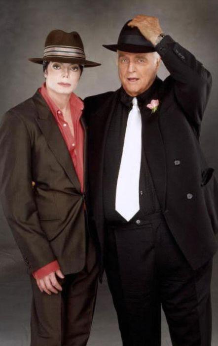 Майкл Джексон и Марлон Брандо. / Фото: www.michaeljackson.com
