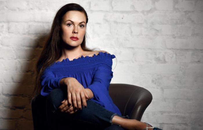 Екатерина Андреева. / Фото: www.twimg.com