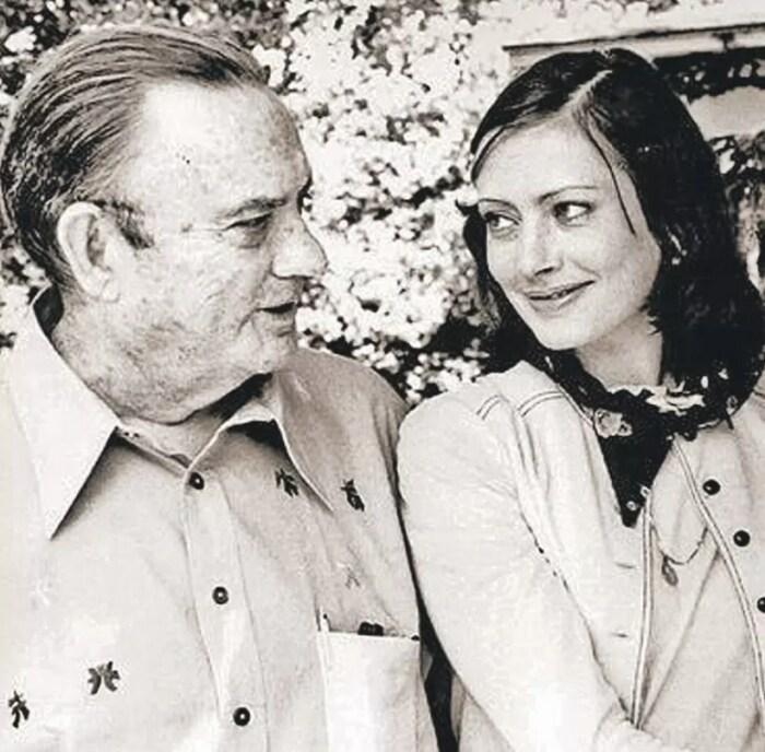 Виктория Фёдорова с отцом. / Фото: www.kpcdn.net